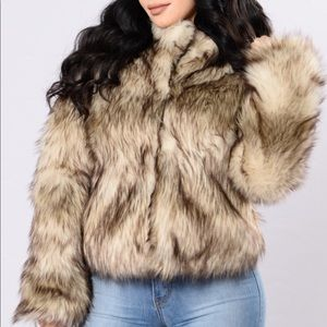 Brand New Faux Fur Jacket